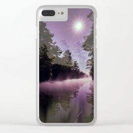 Washago Experiment (Dark) Clear iPhone Case