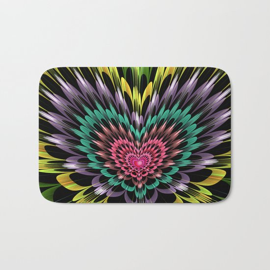 My heart explodes for you Bath Mat