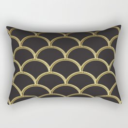 Gatsby deco glam Rectangular Pillow