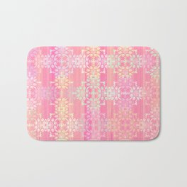 Rainbows and Lace Bath Mat