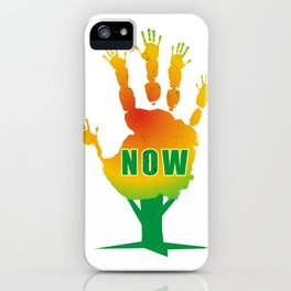 Stop Now iPhone Case