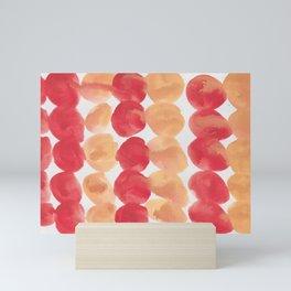 4  | 190408 Red Abstract Watercolour Mini Art Print