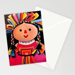 MEXICAN MARIA DOLL*** Stationery Cards