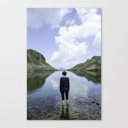 Finding yourself Canvas Print