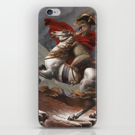 T. Rex Crossing the Alps iPhone Skin