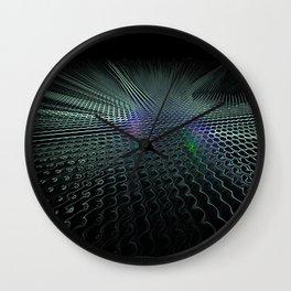Cyber Landing Strip Wall Clock