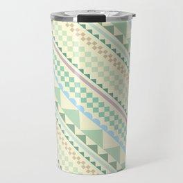 Textile Hexagon Travel Mug