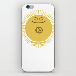 Peace Gift idea Harmony Reconciliation iPhone Skin
