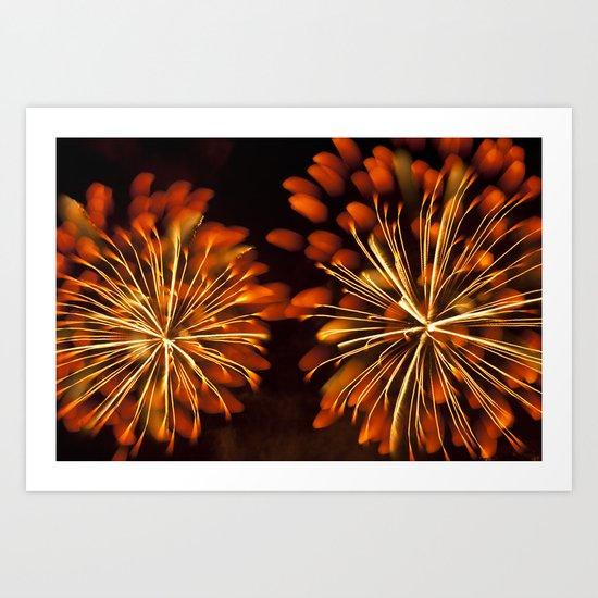 Efflorescence 33 Art Print