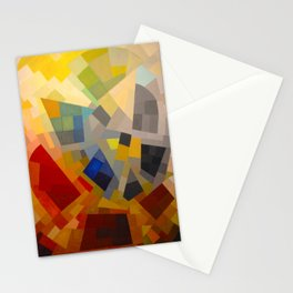 Otto Freundlich Komposition 1939 Mid Century Modern Abstract Colorful Geometric Painting Pattern Art Stationery Cards