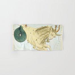 Vintage Capricorn Constellation Map (1825) Hand & Bath Towel
