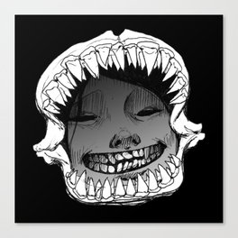 Shark Snark Canvas Print