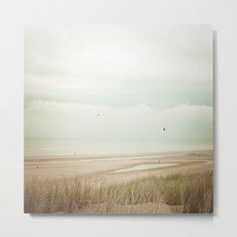 Beach Sea Sky Metal Print