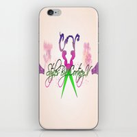 logo iPhone & iPod Skins featuring logo by AB Art
