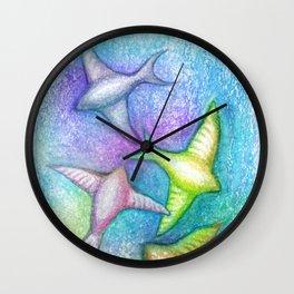 Skydivers Wall Clock