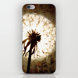 Dandelion iPhone Skin