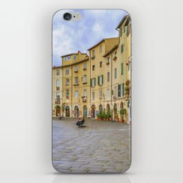 Piazza Anfiteatro, Lucca City, Italy iPhone Skin