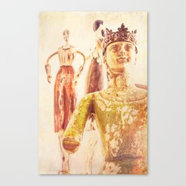 King and Subjects Canvas Print