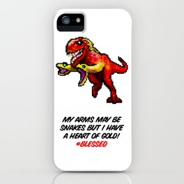 Don't Judge Me! iPhone Case