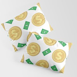 Dollar pattern background Pillow Sham
