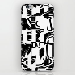 Black & White iPhone Skin