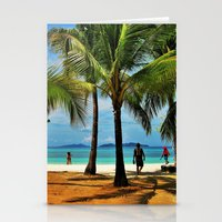 philippines Stationery Cards featuring Malcapuya Island, Philippines by Filipinka