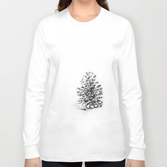 Pine Cone Long Sleeve T-shirt