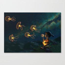 Jellies Canvas Print