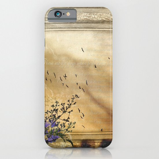 These are the days when birds come back iPhone & iPod Case