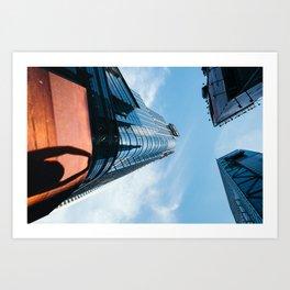 Sky High Art Print