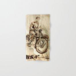 BSA - Vintage Poster Hand & Bath Towel