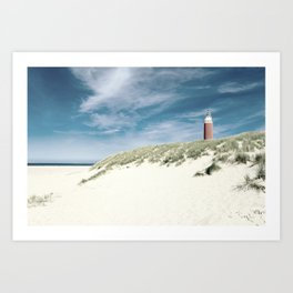 lighthouse Eierland Art Print