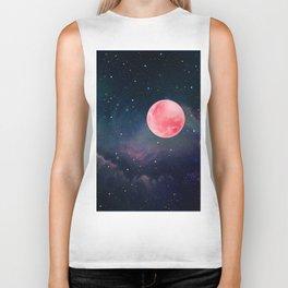 Pink Moon Biker Tank