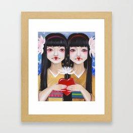 Ren Cho and Shinobu Framed Art Print
