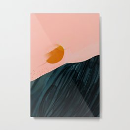 The Sunsets On New Horizons Metal Print