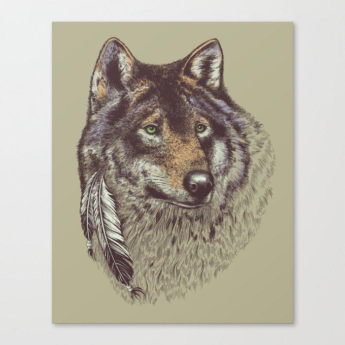 Wolfen Canvas Print