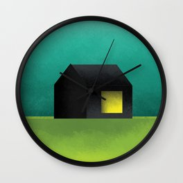 Simple Housing | House in a lowland Wall Clock