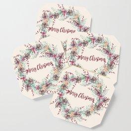 Xmas Wreath II Coaster