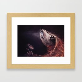 Two Thirds Framed Art Print