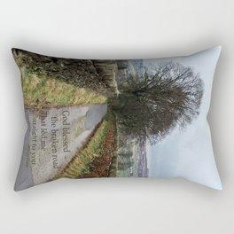 Bless the Broken Road Rectangular Pillow