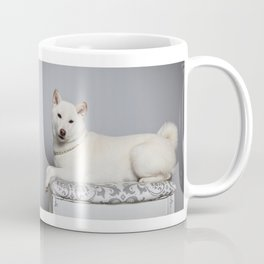 Cream Shiba Inu Dog Coffee Mug