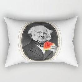Martin Van Buren w/ Watermelon Rectangular Pillow