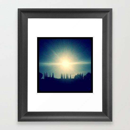 Sun! Framed Art Print
