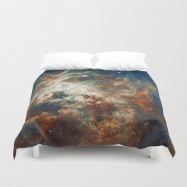 Space Nebula, Star and Space, A View of Galaxy and Outerspace Duvet Cover