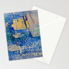 Venice Night of the Festival of the Redeemer Henri-Edmond Cross Neo-Impressionism Pointillism Stationery Cards