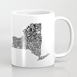 Typographic New York Coffee Mug