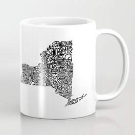 Typographic New York Coffee Mug