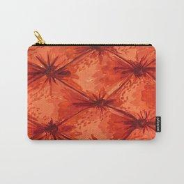 Orange Velvet Carry-All Pouch