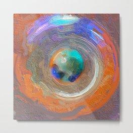 Abstract Mandala 310 Metal Print