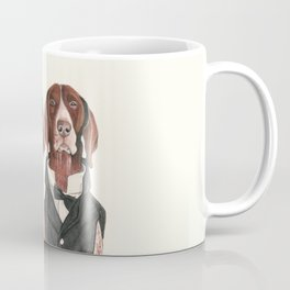 german short hair pointers - F.I.P. @ifitwags (The pointer brothers) Coffee Mug
